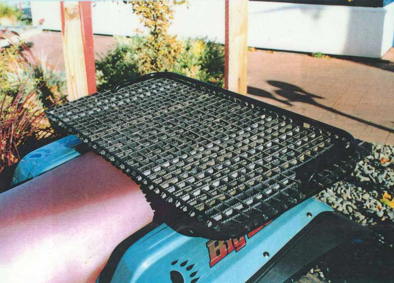 ATV Mat - Honeycomb