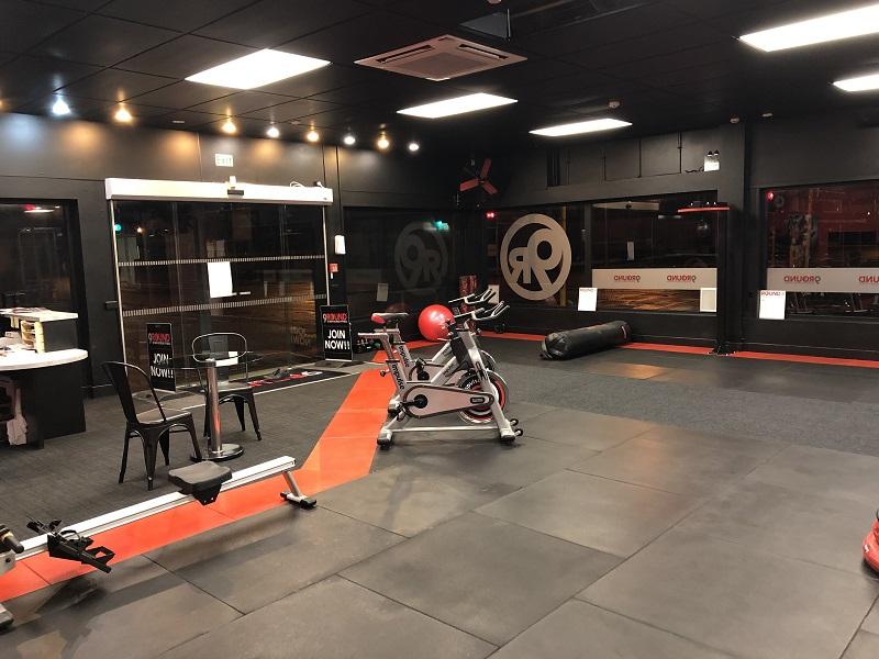 Flooring gym tiles fibrebond burgess matting