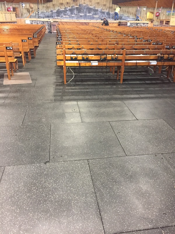 Rebond flooring gym tiles burgess matting