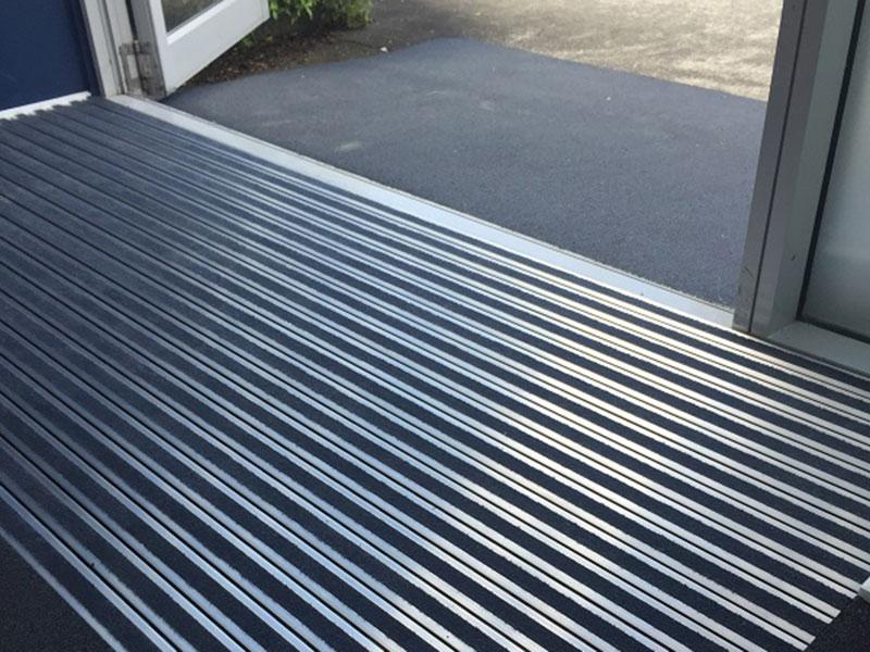 Burgess matting rubber flooring solutions