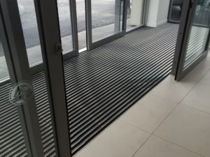 Combi Rubber Scrape entrance mat